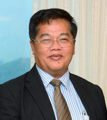 Okhna Haji Othsman Hassan. Presiden Yayasan Umat Islam Kemboja (YAPIK)
